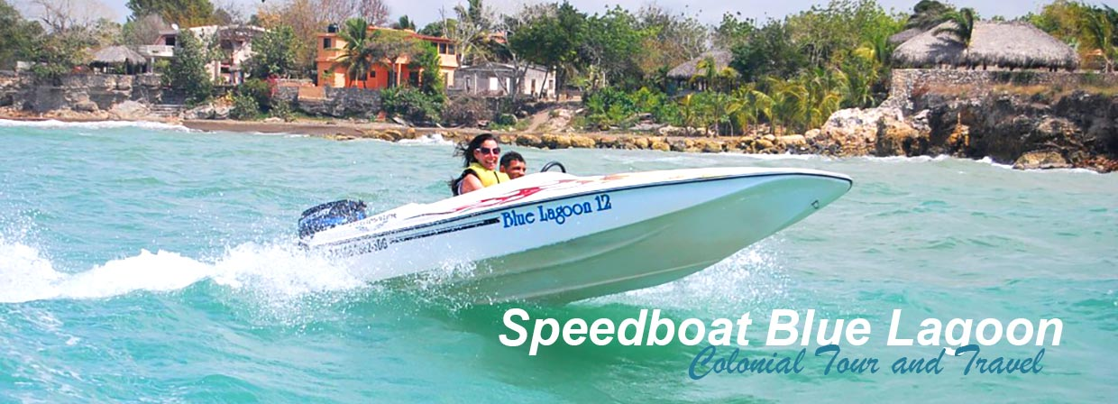 Speed Boat Blue Lagoon Bayahibe