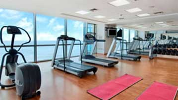 Hilton Santo Domingo gym
