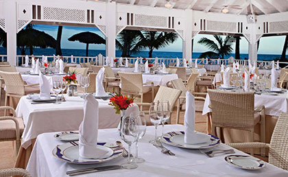 Grand Bahia Principe Rio San Juan resort dining
