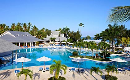 Grand Bahia Principe Rio San Juan resort pools