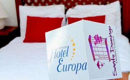 Antiguo Hotel Europa rooms