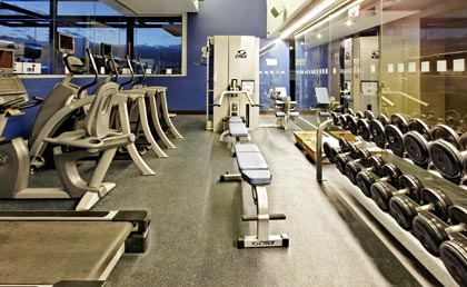 Holiday Inn Santo Domingo hotel - gym
