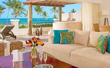 Now Larimar Punta Cana terrace