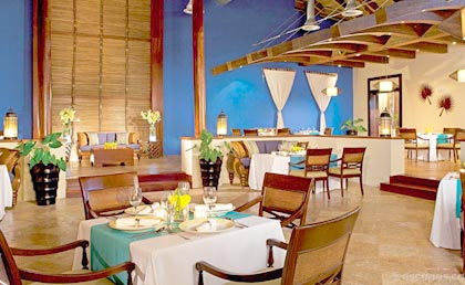 Now Larimar Punta Cana restaurants