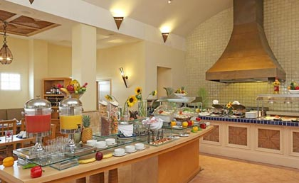 Quality Hotel Real Aeropuerto buffet